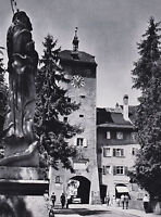 Waldshut am Hochrhein - Stadttor um 1950  RAR