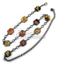 NEW Valerie Stevens Women's Hollywood Collage Chain Belt Size L/XL PL1424143