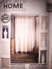 UNCUT McCalls Pattern Donna Babylon Window Essentials
