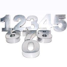 NUMBER 0 to 8 SET BIRTHDAY WEDDING ANNIVERSARY CAKE TIN BAKING PAN