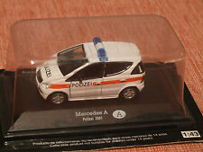 2001 MERCEDES A140 AUSTRIAN POLICE VEHICLE  1:43 SCALE
