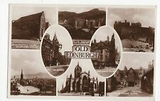 Scotland, Old Edinburgh RP, Postcard, A392