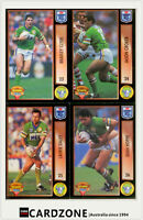 1994 Dynamic Rugby League Series 1 Base Team Set Canberra Raiders (11)