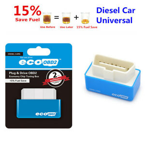 Eco OBD2 Economy Fuel Saver ECU Tuning Box Chip For Diesel Car Gas Saving T0A7B