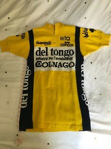 Retro 1983 Deltongo Colnago Cycling Jersey Cycling Short Sleeve Jersey