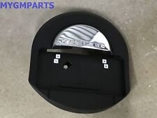 """HUMMER GM BLACK REAR TIRE COVER WITH CHROME """"HUMMER"""" 2005-2009 NEW OEM  25782333"""