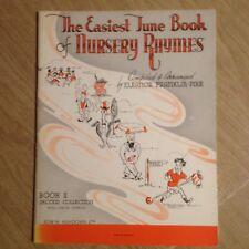 Easiest Tune Book Of Nursery Rhymes Sheet Music 29 Songs Lyrics Guitar Symbols