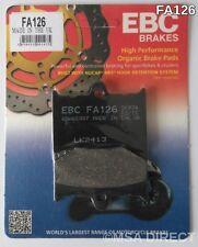Aprilia RS125 (1992 to 2005) EBC Organic FRONT Disc Brake Pads (FA126) (1 Set)