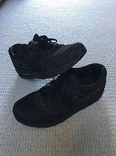 Nike Air Max 1 Triple Black Size 10 UK