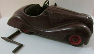 Vintage Schuco Akustico 2002 Car Wind Up Toy W/Key Made in Germany FREE SHIPPING