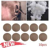 10Pcs Smoke Cake White Bomb Effect Show For Pography-Stage ps Aid-Toy