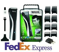 Wahl Professional Corded/Cordless Hybrid Hair Clipper Groomer Trimmer 09698-1016