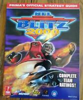 NFL Blitz 2000 Nintendo 64 N64 Strategy Guide Player's Hint Book Codes Plus