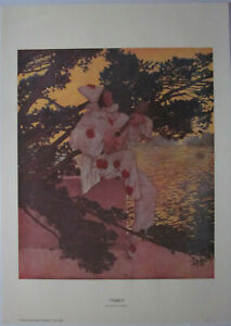 Pierrot Poster by Maxfield Parrish