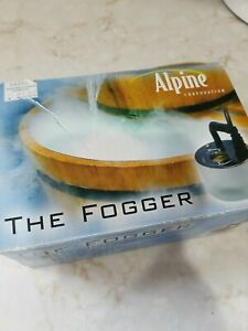 Alpine The Fogger Water Features Fountain Indoors Home Décor Decoration New