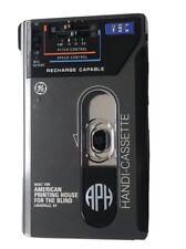 Rare GE AMERICAN PRINTING HOUSE Handi-Cassette Recorder/Player 3-5184A VSC