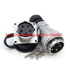 WS28 5pin Solder Connector, Auto Aviation Industrial Connector,5wire Plug Socket