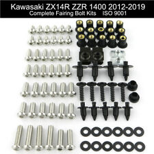 Complete Fairing Bolts Nuts Fastener Kit For 2012-2019 Kawasaki ZX14R ZZR1400