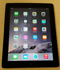 Apple iPad 4th Gen 32GB Retina Display Wi-Fi 4G LTE Black Unlocked A1459