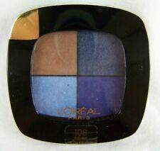 Loreal Paris Colour Riche Eye Shadow Pocket Palette Quad #108 Bleu Nuit New