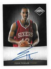 2010-11 Evan Turner Panini Limited #25 NEXT DAY AUTO/AUTOGRAPH RC #D 66/99 (F61)