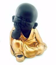 Colore oro rosa baby Buddha con testa a portata di mano 61499