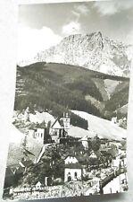 alte AK/PK Eisenerz mit Kaiserschild in der Steiermark gelaufen 1957  (A2883)