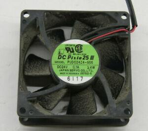 Agfa DC Pixie 25 Fan - PUDC24Z4-955 DC24 0.1A 24W - USED C1435