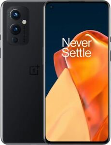 OnePlus 9 5G 128GB (Unlocked) - Astral Black 8GB Ram LE2115 New Factory Sealed