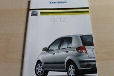 136973) Hyundai Getz Prospekt 01/2003