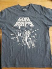 Star Wars Mad Engine Cool  T Shirt  Movie Tee    Poster  size L