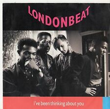 """Londonbeat - I've Been Thinking About You 7"""" Single 1990"""