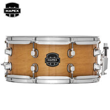 "NEW Mapex MPX Maple 13"" x 6"" Snare Drum Transparent Natural MPML3600CNL"