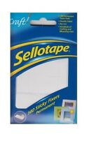 Sellotape 140 Sticky Fixers Permanent Double Sided Foam Pads 12mm X 25mm