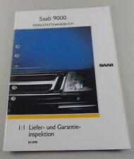 Workshop Manual Saab 9000 Ships Garantieinspektion Model Year 1990