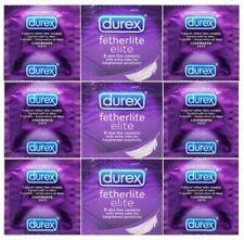Durex Elite Condoms - Intimate Ultra Thin Feel ** Retail Boxes** 6-12- 24-48-100