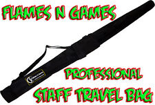 Flames 'N Games Fire Staff Travel Bags / 4 sizes