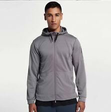 Nike Project X Full Zip Training Hoodie Gunsmoke Ridgerock DRY Dri-Fit  Medium