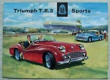 TR3 Car Sales Brochures for sale | eBay