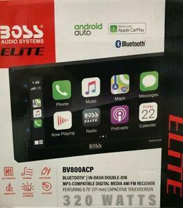 "Boss Audio - BV800ACP - Elite 6.75"" Double Din Digital Multimedia Car Play"