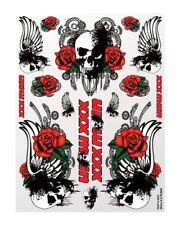 xxxmain Dekorbogen Skulls & Roses - XS033