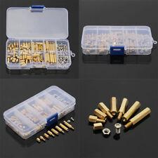 120Pcs M3 Male Female Hex Brass Spacer Standoffs PCB Board Screws Nut Assortment