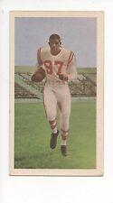 1954 Blue Ribbon Tea Canadian Football Card #56 Eddie Macon-Calgary Stampeders