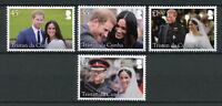 Tristan da Cunha 2018 MNH Prince Harry Meghan Royal Wedding 4v Royalty Stamps