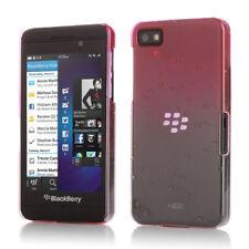 3D Rain Drop Gradient Design Snap On Case Cover Skin For BlackBerry Z10 Pink