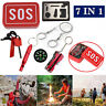 SOS Emergency Survival Equipment Kit Outdoor Gear Tool Tactical Camping Hunting