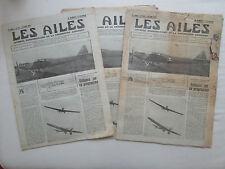 AILES 1931 532 LORRAINE HANRIOT COUPE DUNLOP BALLON GIRAUD DEUTSCHLAND FLUG DO-X