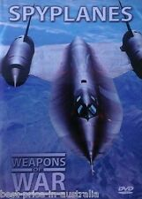 WEAPONS OF WAR - Spyplanes DVD + BOOK WORLD WAR TWO WWII Aircraft BRAND NEW R0