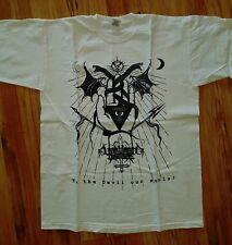 Unhuman Disease white Shirt Black Metal Mayhem Darkthrone Urfaust Watain Urgehal
