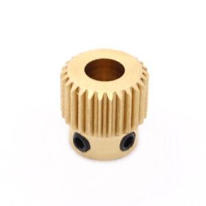 Extruder Filament Vorschubrad Zahnrad RepRap 3D Drucker Printer